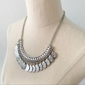 Coin Necklace Adjustable